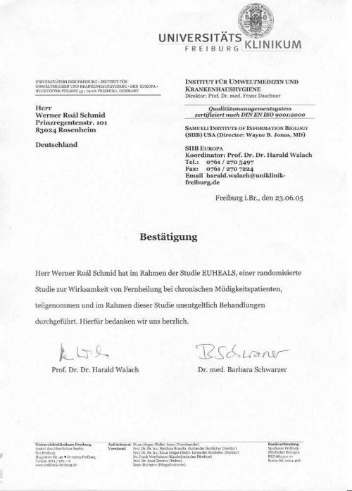 Zertifikat uniklinik_freiburg